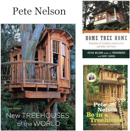 Pete Nelson's treehouse books